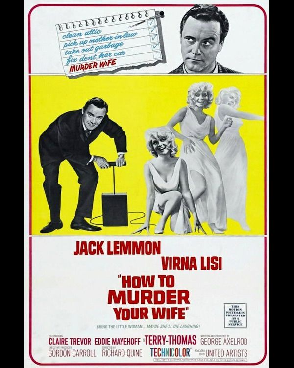 #wathcmovies   #streaming  #movies  #Comedy  #HowtoMurderYourWife  Watch How to Murder Your Wife Free on 123Movies Stanley Ford leads an idyllic bachelor life. He is a nationally syndicated cartoonist whose Bash Brannigan series provides him with a luxury townhouse and a full-time valet Charles. When he wakes up the morning after the night before - he had attended a friend's stag party - he finds that he is married to the very beautiful woman who popped out of the cake - and who doesn't…