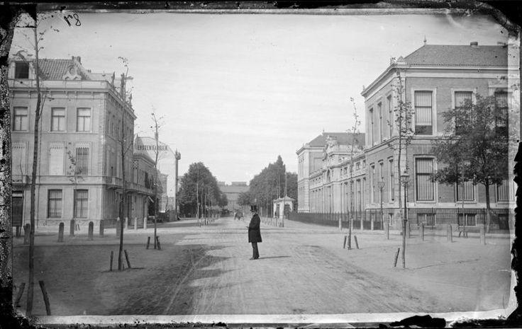 Plantage Kerklaan, 1871. Oorspronkelijk een ...