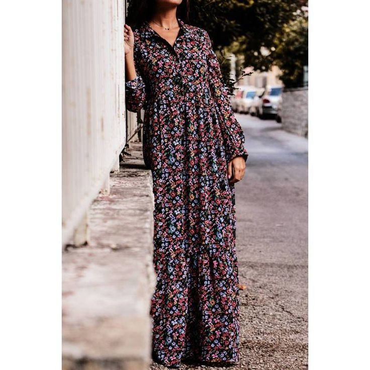 #longdress #floral #newcollection #newarrivals #helmistyle