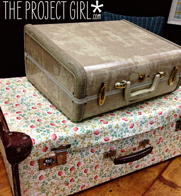 modge podge paper onto suitcase: Podge Suitcases, Vintage Suitcases, Crafts Diy Ideas, Crafts Ideas, Podge Paper, Creative Ideas, Podge Ideas, Podge Projects, Cycling Suitcases