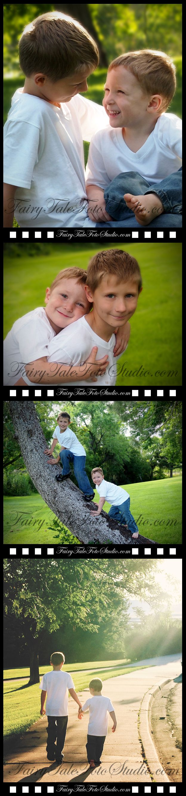 Brothers | Outdoor Sibling Photo Shoot | 9 and 4 Year Old Boys at a Park | Portrait Poses | Photo Idea | Photography | Cute Kid Pic | Baby Pics | Posing Ideas | Kids | Children | Child | ~Bountiful Utah Photographer