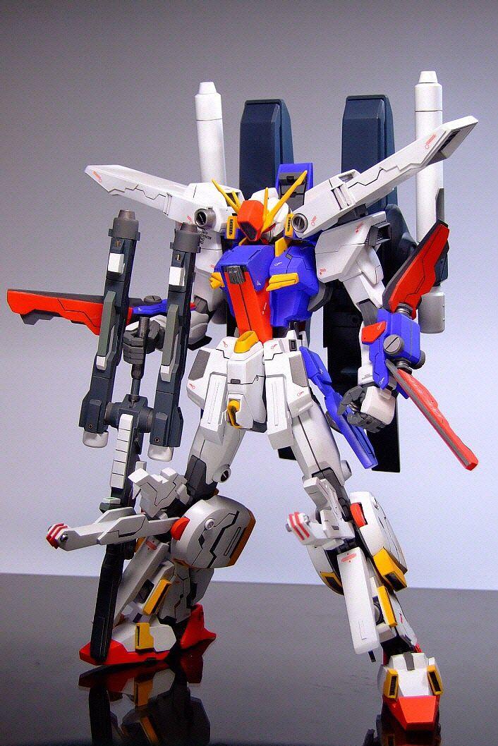 "Custom Build: MG 1/100 MSZ-010 ZZ Gundam ""SEED Version"" - Gundam Kits Collection…"