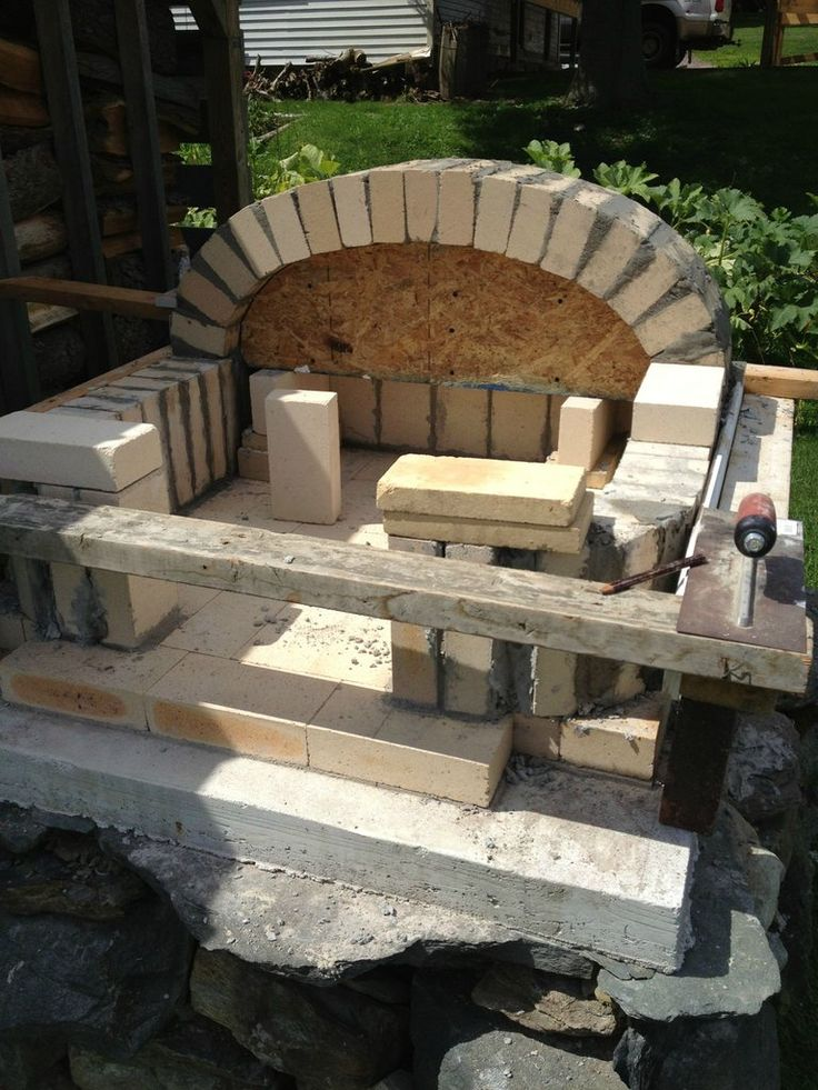 build your own pizza over - more info athttp://www.reddit.com/r/DIY/comments/1nvgl1/brick_pizzabread_oven/