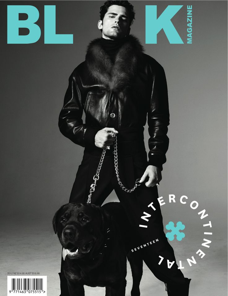 Black Issue #17 Sean O'Pry cover