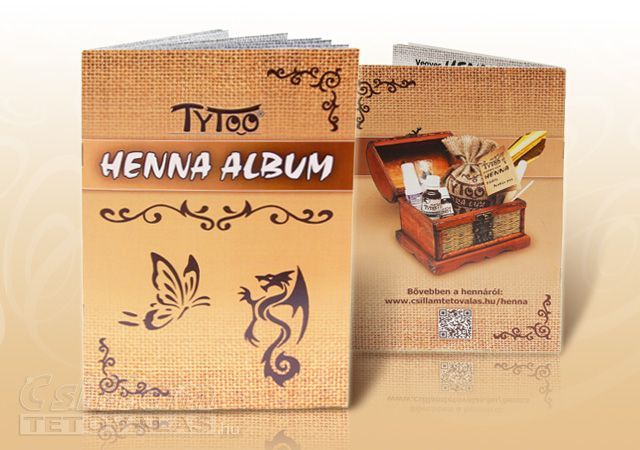Henna minta album, amely segítségével könnyedén festhetsz Te is szépséges henna mintákat, akár otthon is! Szerezd meg itt >> http://www.csillamtetovalas.hu/henna-minta-album/Henna-minta-album-A-5-20-oldal-80-minta-Szines-borito--fekete-feher-lapok.html