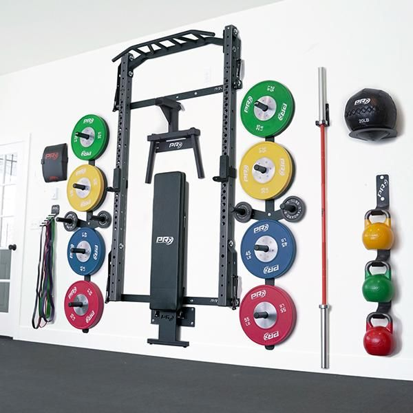 Profile Squat Rack With Kipping Bar As Seen On Abc S Shark Tank Gym Room At Home Diy Home Gym Home Gym Decor