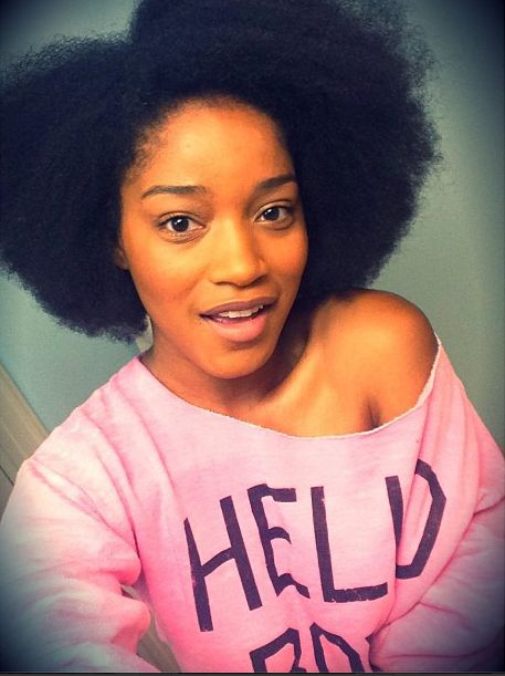 Keke Palmer Natural Hair | Click here for our last Keke Palmer natural hair sighting.