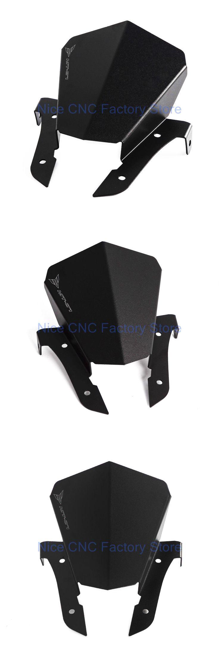 [Visit to Buy] Upper Headlight Top Mount Cover Panel Fairing Fit Yamaha MT-07 FZ-07 2014 2015 2016 MT07 FZ07 14 15 16 NEW #Advertisement