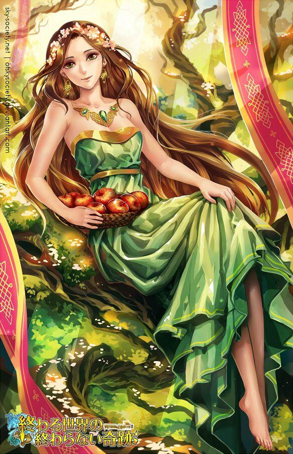 Fairy goddess girls nude-9108