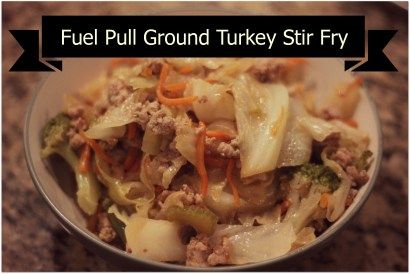 A healthy stir fry for your Trim Healthy Mama diet