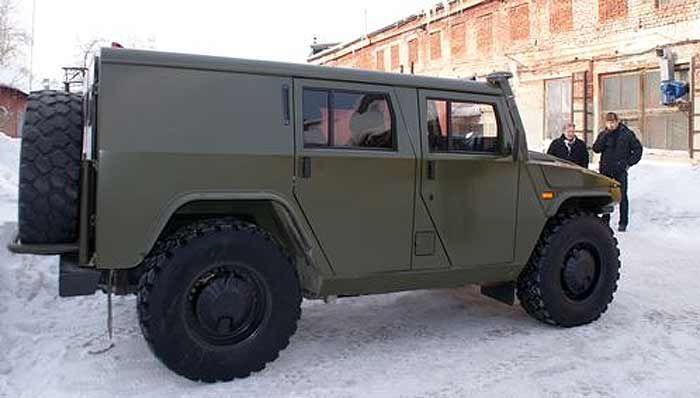 Тигр ГАЗ-2330 | MilitaryRussia.Ru — отечественная военная техника (после 1945г.)