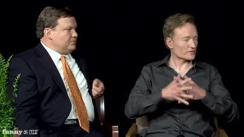 Between Two Ferns with Zach Galifianakis: Conan O'Brien & Andy Richter (VIDEO)