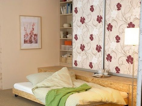 Три в одном. Шкаф платяной, книжный и диван-кровать своими руками