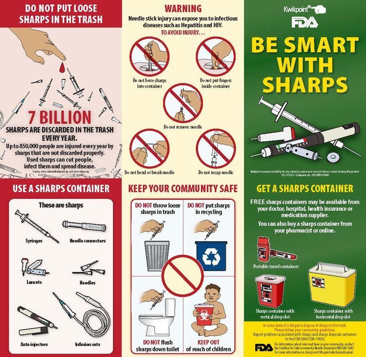 7 Best Images About Safe Sharps Disposal On Pinterest