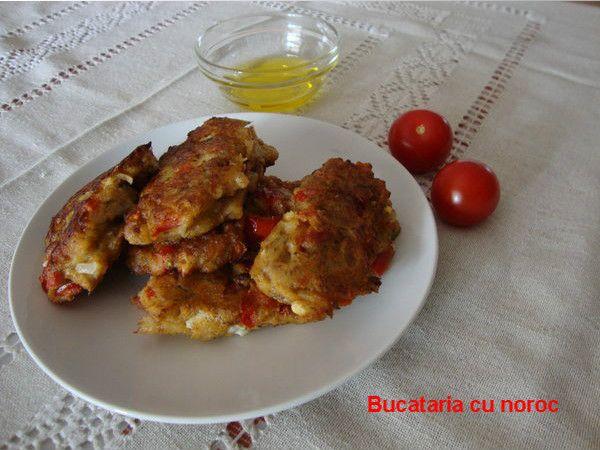Chiftele de rosii ca in Santorini - Bucataria cu noroc