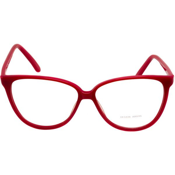 Vintage glasses 70s, made in France by Argos. Red cat eye glasses... ❤ liked on Polyvore featuring accessories, eyewear, eyeglasses, cat-eye glasses, cat eye glasses, vintage eye glasses, red eyewear and vintage glasses