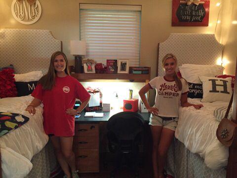 University of Arkansas dorm room - maple east