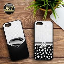 Couple 010 - Phone Case untuk iPhone, Samsung, HTC, LG, Sony, ASUS Brand #couple #phone #case #custom #superman #wonderwoman