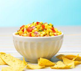 Nombre de portions : 4Temps de préparation: Temps de cuisson: 30 minutesType de repas : | Condiments | Voici nos meilleures recettes de condimentsDiète spéciale : Ingrédients1 poivron vert1 poivron rouge250 mL (1 tasse) de grains de maïs, frais ou décongelés30 mL (2 c.à soupe) d'huile olive Zeste râpé et jus de 1 lime.5 mL …
