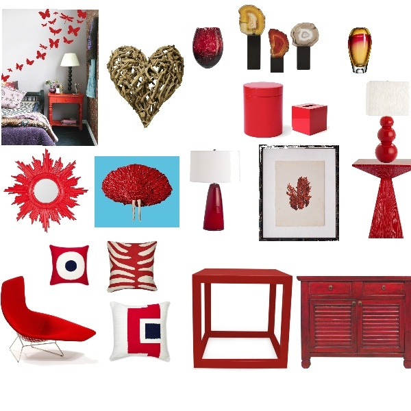 Add A Punch Of Red To Liven Up Your Rooms. Furniture And Acessories From  Project Decor Selected By Candie Hernandez Design Board Titled Red She Said