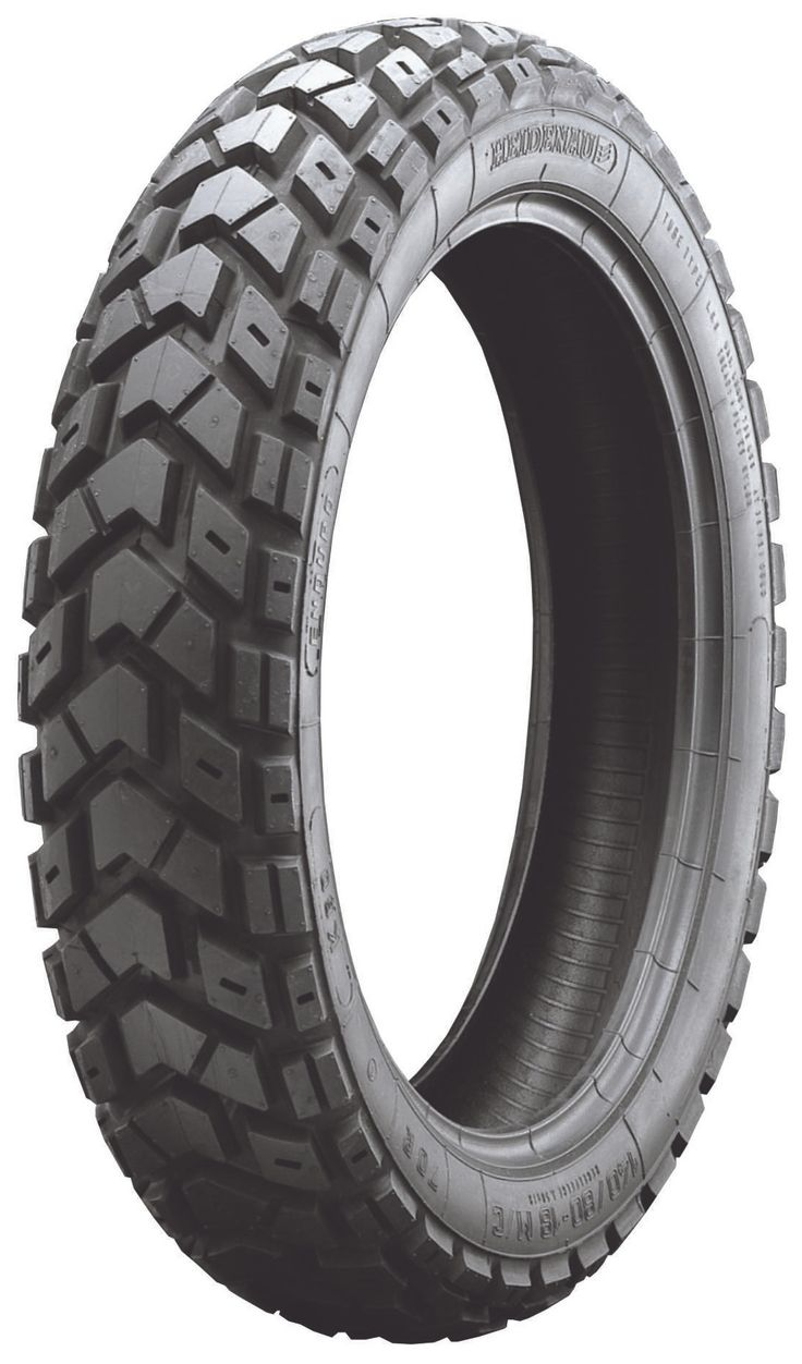 "A true ""50/50"" dual sport tire, the Heidenau K60 Scout brings a proven balance of performance on- and off-road. With an improved tread and compound, the Heid..."