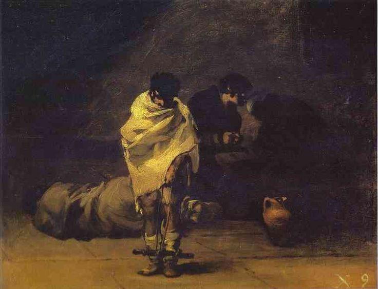 #Prison Scene- Francisco #Goya