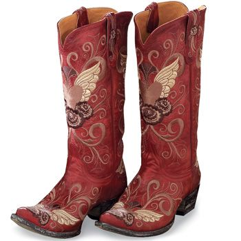 Grace Boot- Old GringoCowgirl Boots, Cowboy Boots, Red Boots, Grace Boots, Clothing, Cabin Home, Boots Rocks, Amazing Grace, Red Cowgirls Boots