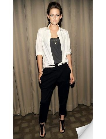 kristen stewart - not a fan of acting, but she has style | cool minimal chic