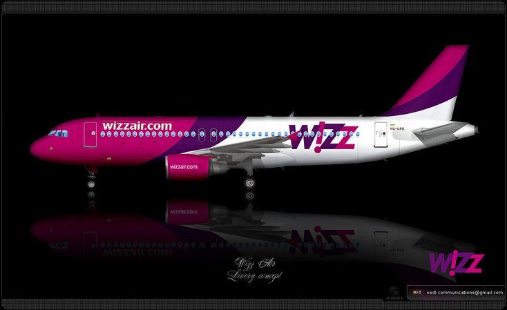 https://flic.kr/p/q23xm3 | WizzAir Livery concept | WizzAir / Airbus A320 / Livery concept