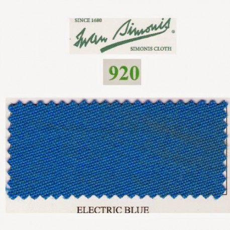 Kit tapis Simonis 920 7ft UK Electric Blue - 95,00 €  #Jeux