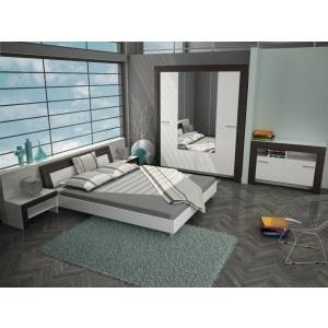 Dormitor Aida alb + magia 6C