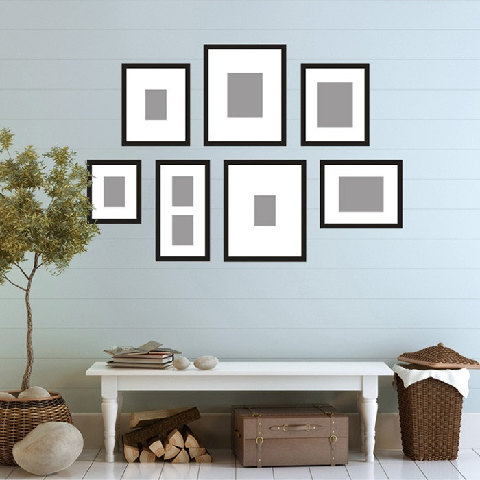 21 best Frame Templates images on Pinterest | Photo walls, Home ...