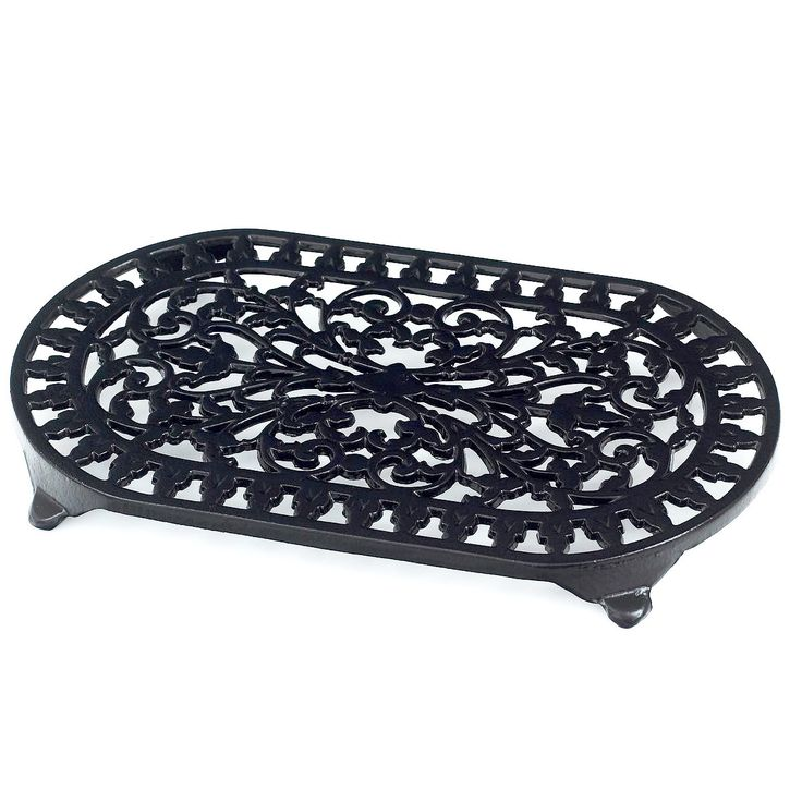 Robert Welch Traditional Cast Iron Trivet · Black · – Yester Home