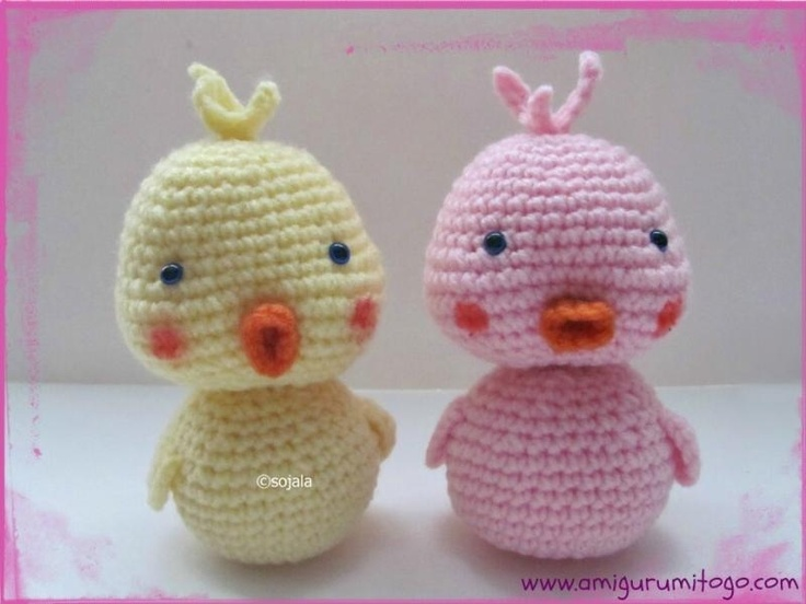 Crochet Baby Duck free pattern