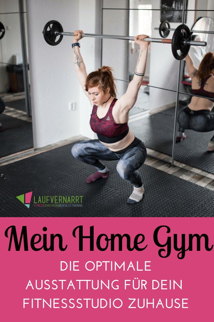 Mein Home Gym Fitnessstudio zuhause 75