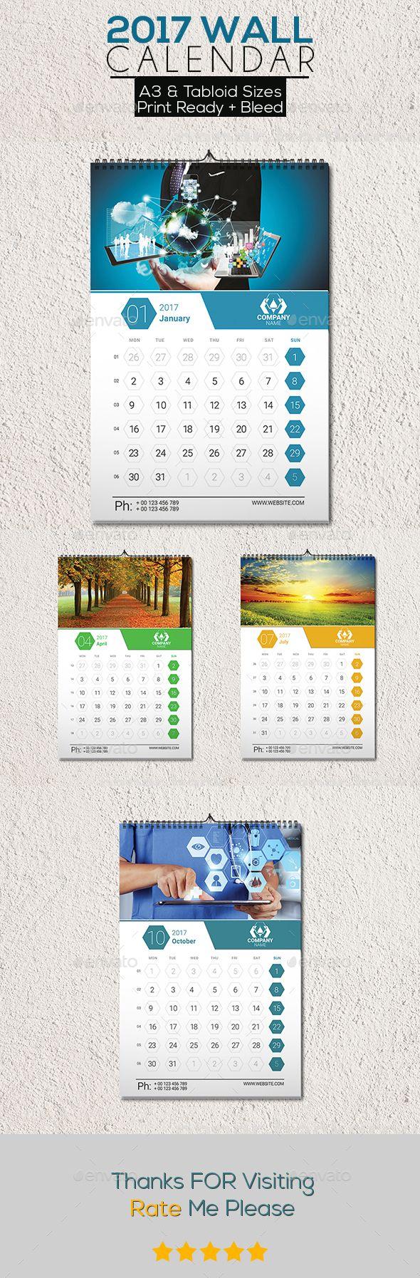 77 best calendar template 2018 images on pinterest calendar 2018 clean 2017 wall calendar calendars stationery saigontimesfo