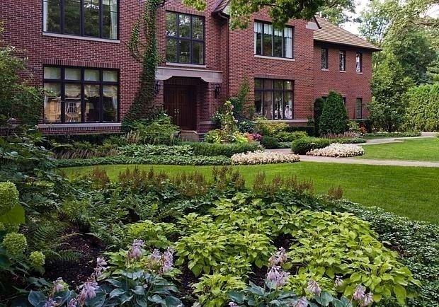 Ландшафтный дизайн в Новой Англии - Дизайн интерьеров   Идеи вашего дома…