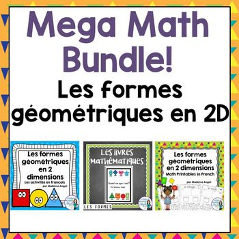 The 567 best french resources images on pinterest french resources les formes gomtriques french 2d geometry math bundle fandeluxe Images
