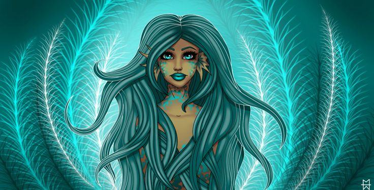 Mermaid by Madison Welch (sirensong07) CANVAS FOR SALE