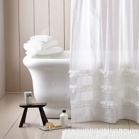 10 Extra Long Shower Curtain ideas