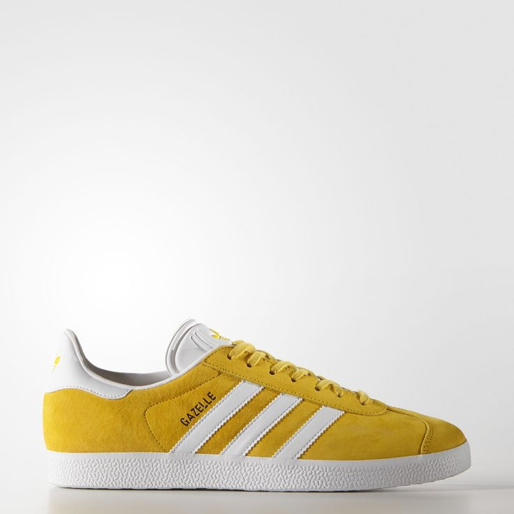 Shop for Gazelle Shoes - Yellow at adidas. See all the styles and colours  of Gazelle Shoes - Yellow at the official adidas Belgium online shop.