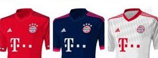 Camiseta Bayern Munich, Camiseta Bayern Munich 2015 2016, Comprar Camiseta Bayern Munich, Nueva camiseta del Bayern Munich 2016,Camiseta Bayern Munich Adidas