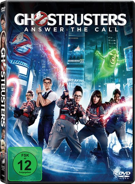 Ghostbusters DVD - Columbia TriStar - Sony Home Entertainment - kulturmaterial - German Cover