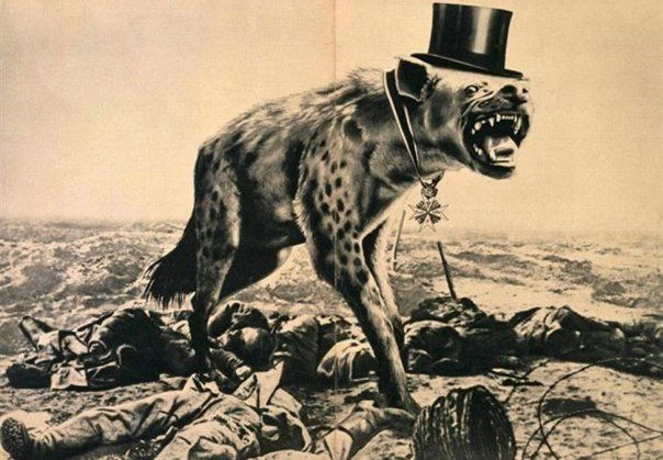 John Heartfield, War and cadavers, the last hope of the rich, 1932
