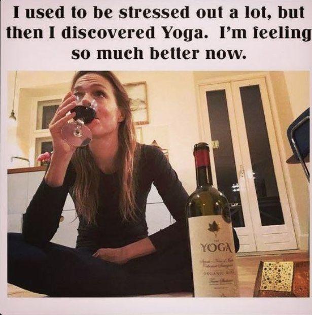Pin By Lisa Pasek On Yoga Wine Meme Wine Humor Best Funny Photos