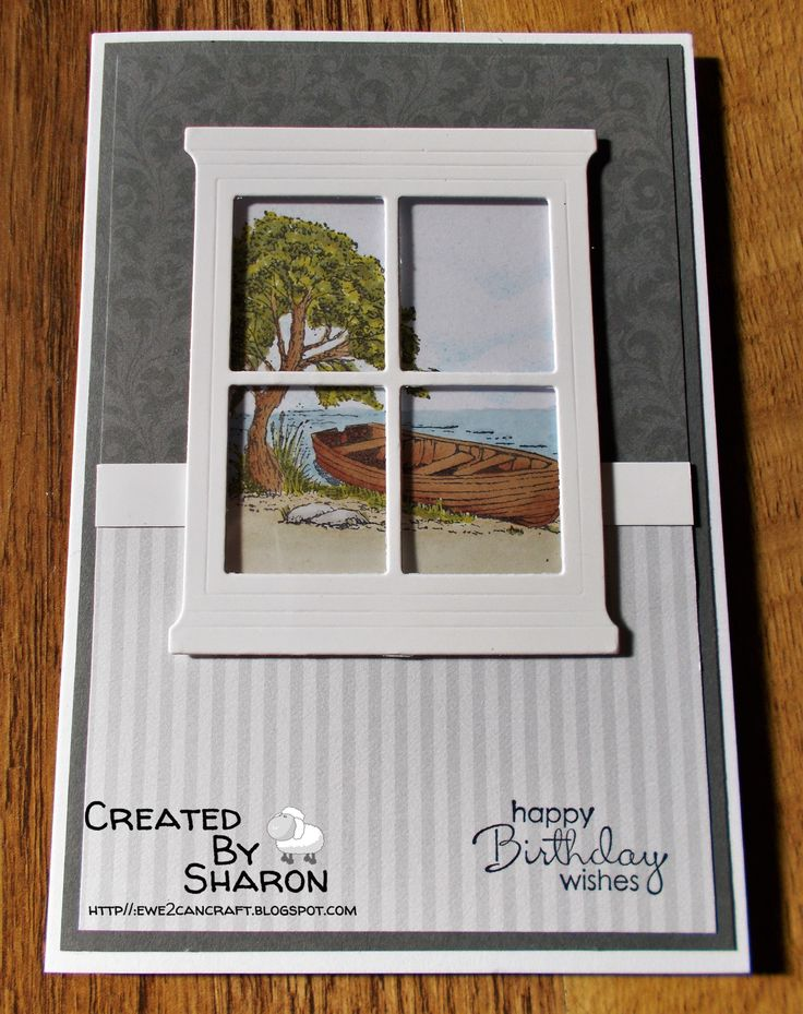 Stampin' Up Hearth and Home die with Moonlake stamp image from Stampin' Up http://ewe2cancraft.blogspot.com