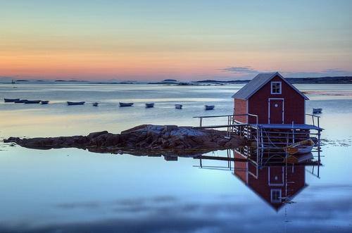 jefferylewis: Joe Batt's Arm, Fogo Island, Newfoundland by Timothy Neesam (GumshoePhotos) on Flickr.