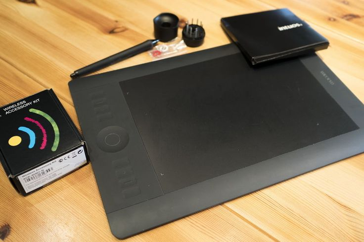 Wacom Intuos 5 touch M incl. wireless Accessory Pack