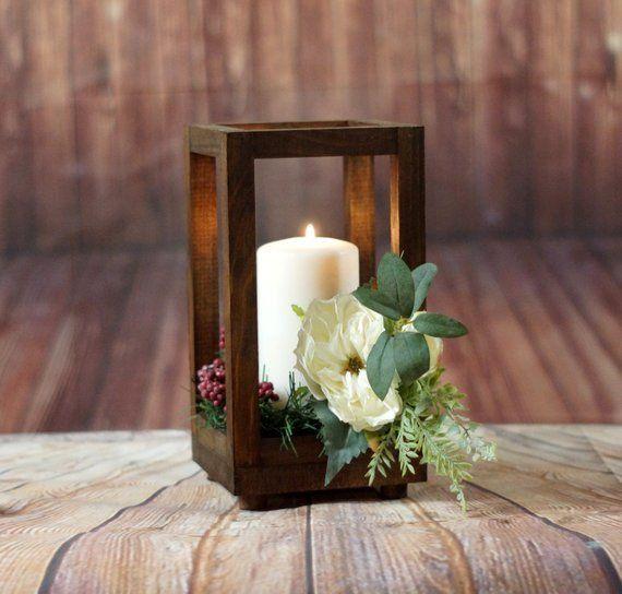 17 Festive Christmas Table Decor Ideas Lantern Centerpiece Wedding Lantern Centerpieces Wedding Centerpieces