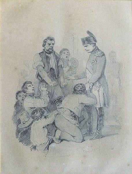 Scène napoléonienne